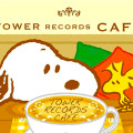snoopy tower record cafe