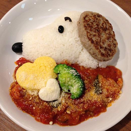 tower record cafe snoopy 02