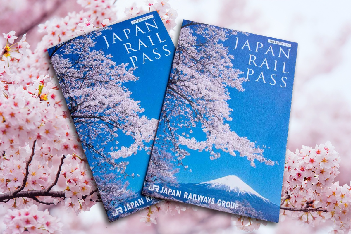 Japan Rail Pass Ticket