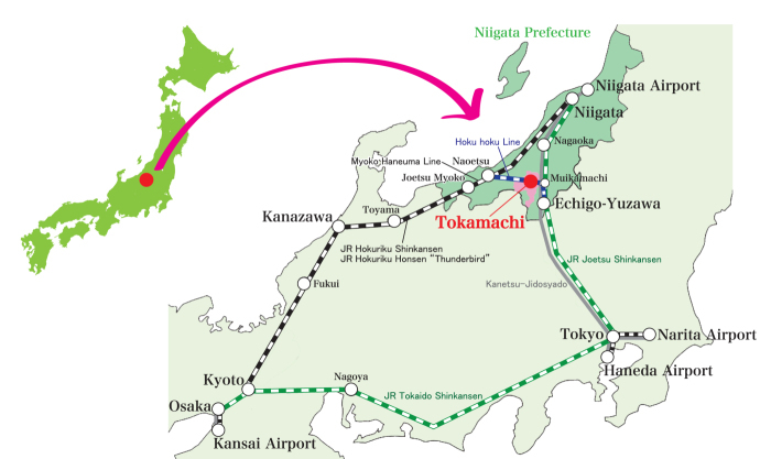 tokamachi map